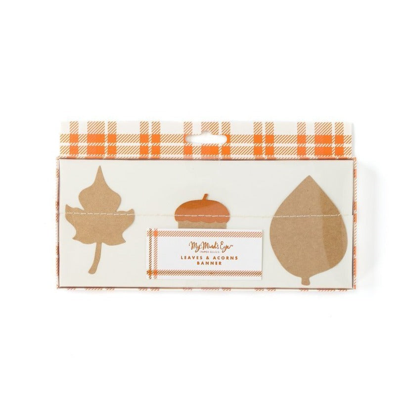 Harvest Leaf Mini Banner