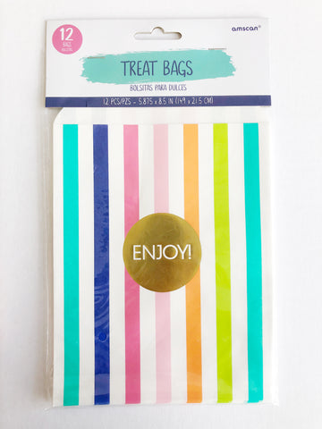 Treat Bags Rainbow