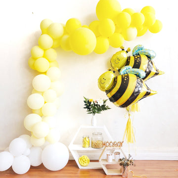 Balloon Garland DIY Kit in Yellow Ombre