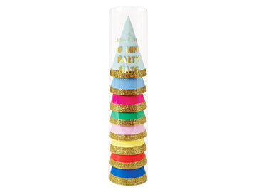 Mini Rainbow Party Hats