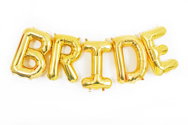 BRIDE letter balloon kit