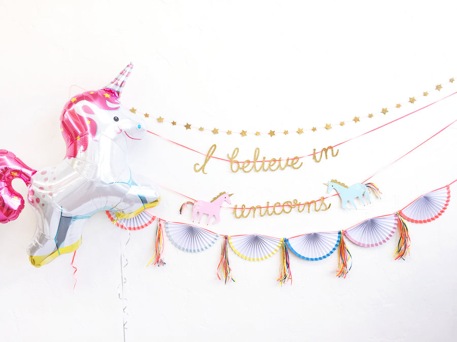 Unicorn Garland Set