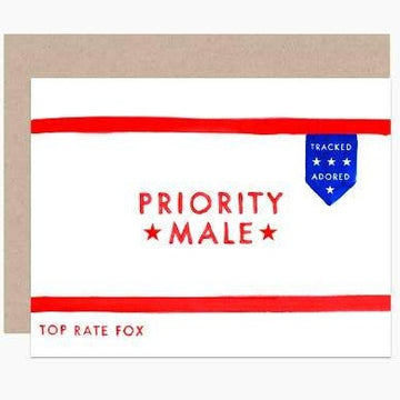 Priority Male Card