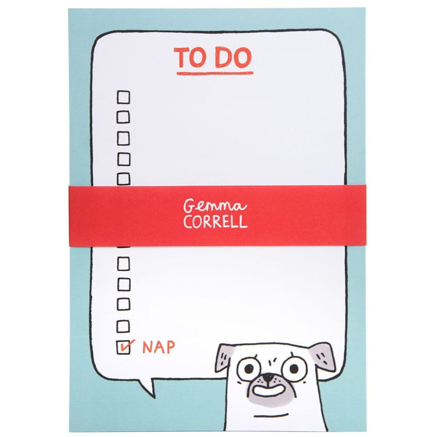 to do list gemma correll paper pad