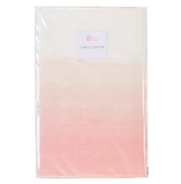 Pink Ombre Table Cover