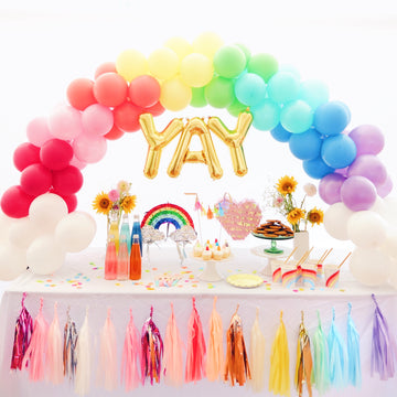 Balloon Garland DIY Kit in Rainbow