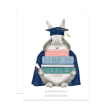 Somebunny Graduated Card