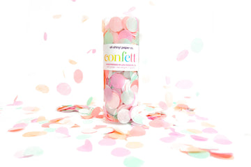 Confetti Tube - Peaches & Mint