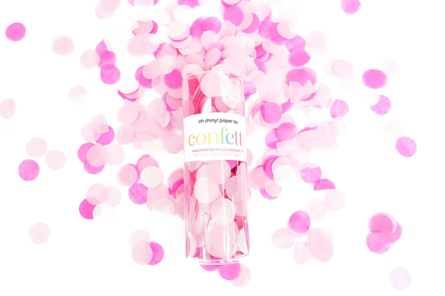 Confetti Tube - Pretty in Pink