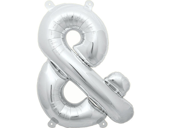 Ampersand Mylar 16in Letter Balloon