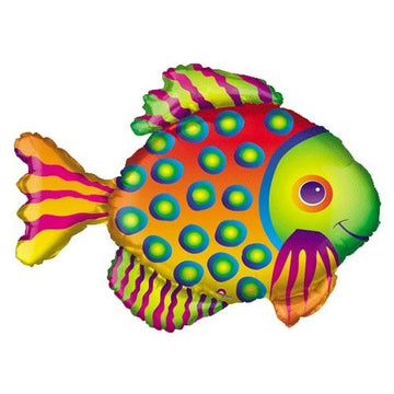 colorful fish balloon