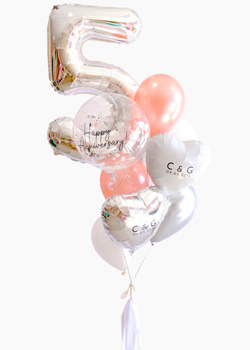 Happy Anniversary Balloongram - Customizable!