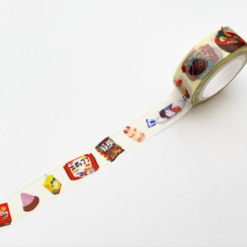 Asian Snacks Washi Tape