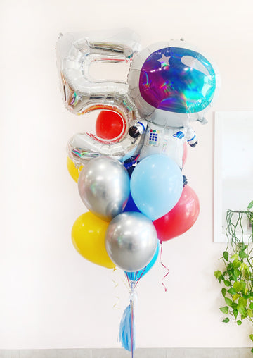 Birthday Astronaut Balloongram - Customizable!