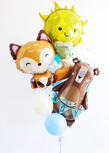 Welcome Baby Boy Balloongram - Customizable!