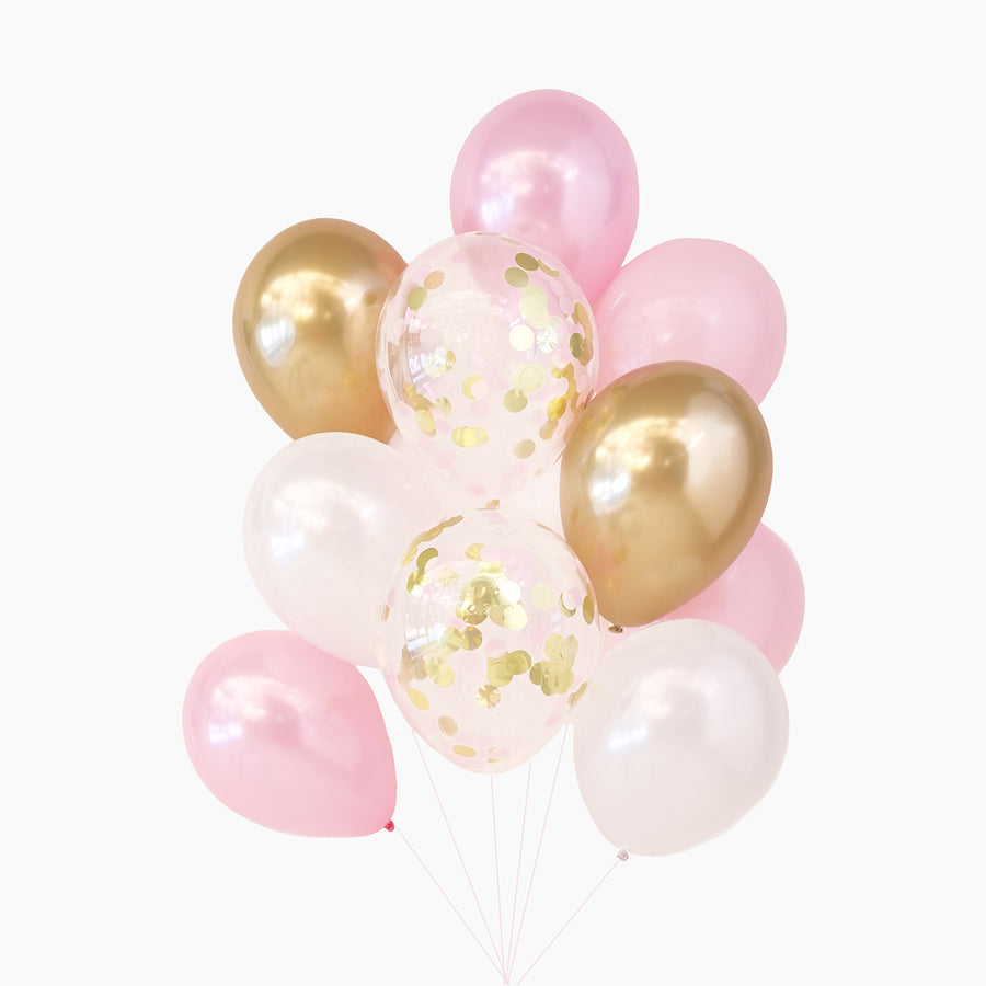 Balloon Bouquet in Ballet Pink