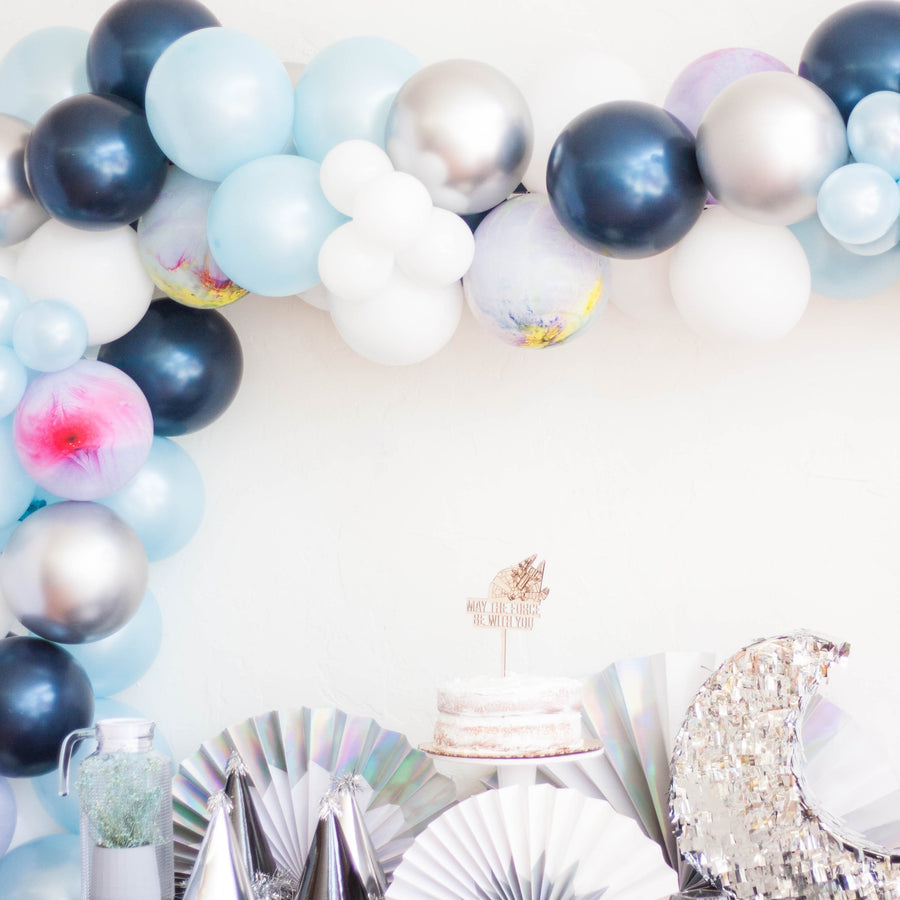 Space Galaxy Balloon Garland Kit DIY