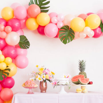 Tropical Summer Balloon Garland Kit DIY