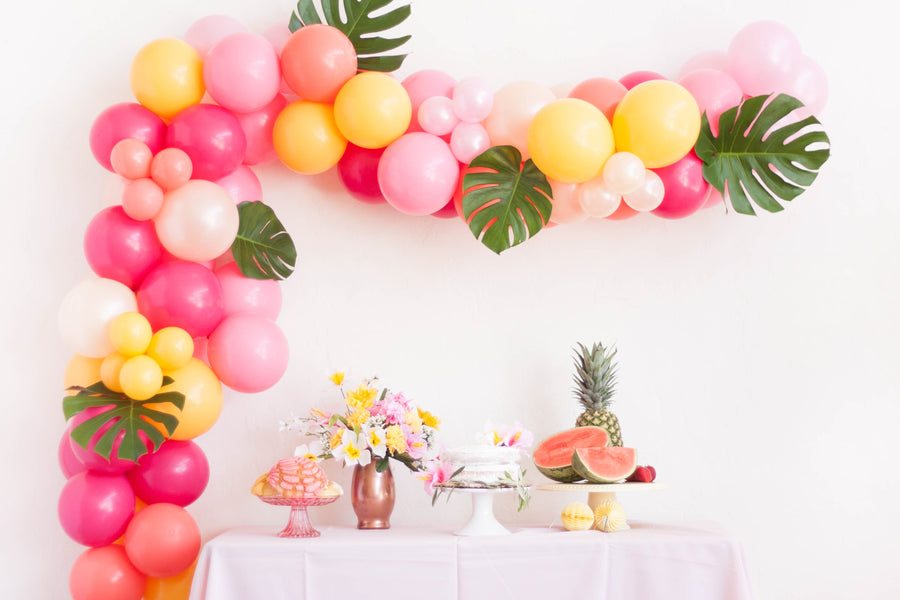Balloon Garland DIY Kit in Tropical Summer