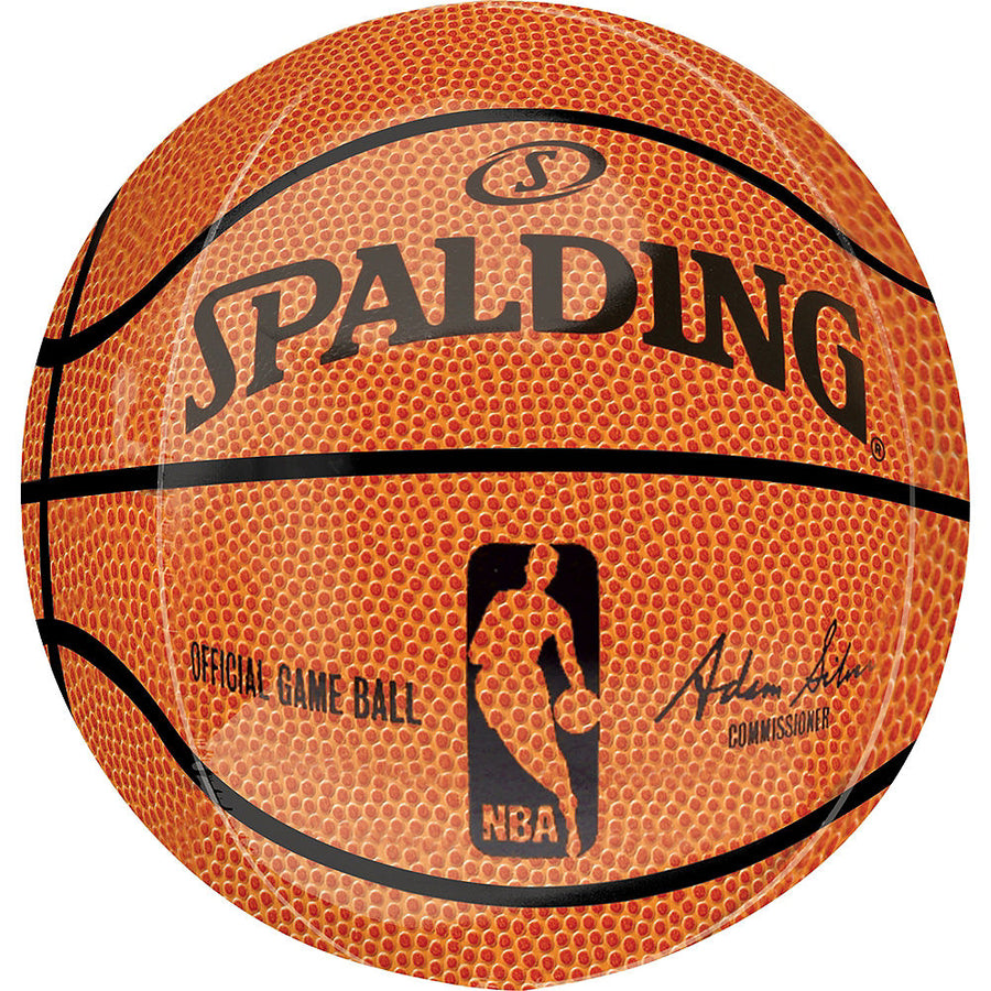 spalding basketball orb balloon