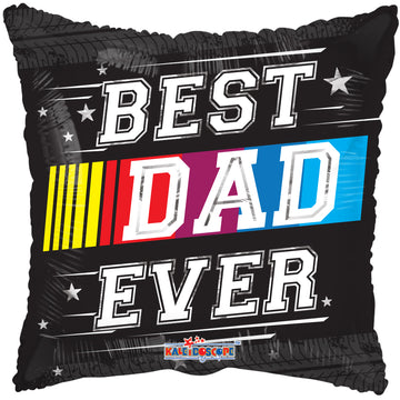Best Dad Ever Race Balloon