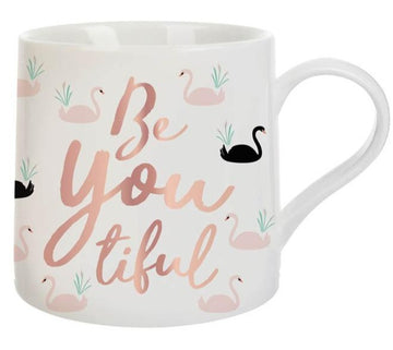 Be You Tiful Swan Mug