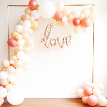 Balloon Garland Kit - Rose Gold and Peach Blush - DIY