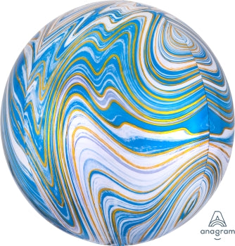 Blue Marble Orb Balloon