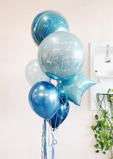 Custom Marble Balloongram