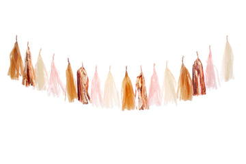 Tassel Garland - Blush Honey