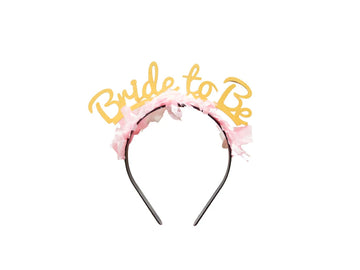 Bride To Be Headband - Gold