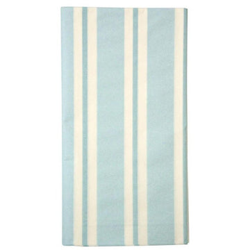 Pale Blue Stripe Paper Table Cover