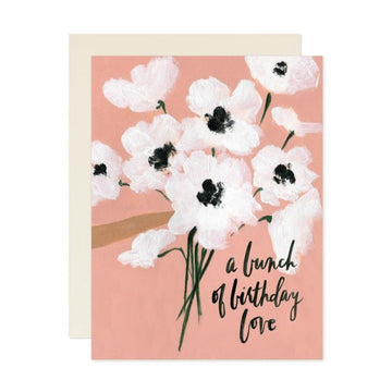 a bunch of birthday love greeting card