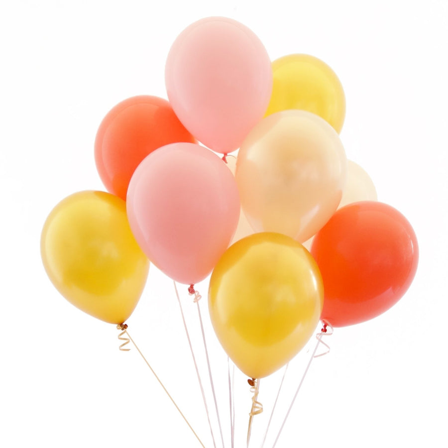 Peach Gold Balloon Bundle