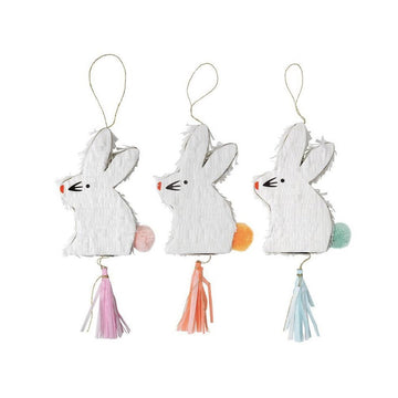 Bunny Favor Pinata - Set of 3