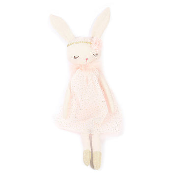 bunny ballerina stuffed animal plush