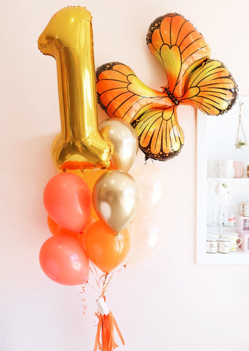 Birthday Butterfly Balloongram - Customizable!
