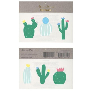 temporary cactus tattoos