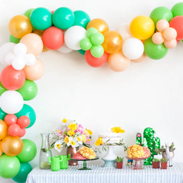 Cactus Fiesta Balloon Garland Kit DIY