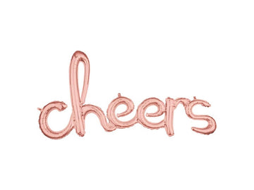 CHEERS Script Letter Balloon