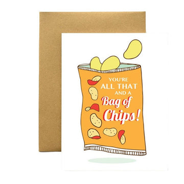 Bag of Chips Card