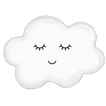 Sleepy Cloud Mylar Balloon