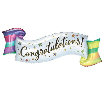 Congratulations Banner Balloon
