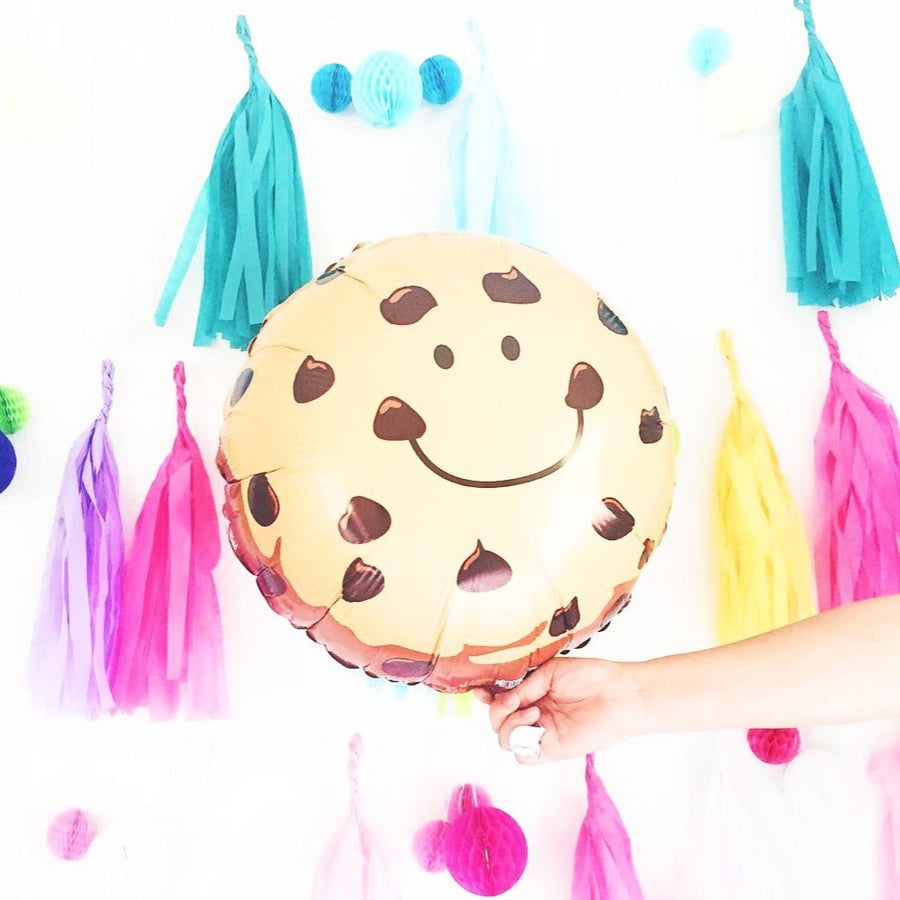 cookie balloon tassels