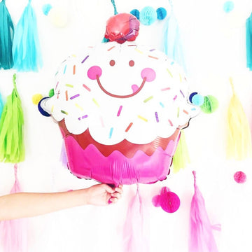 Sprinkled Cupcake Balloon