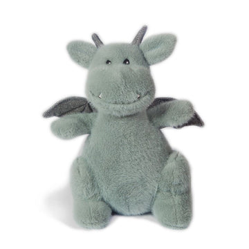 dax sage gray dragon plush
