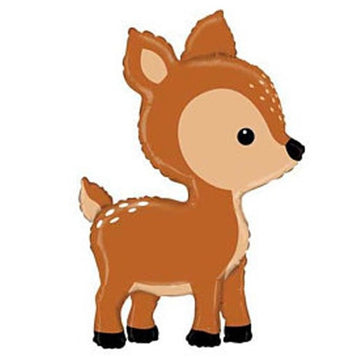 brown fawn deer balloon