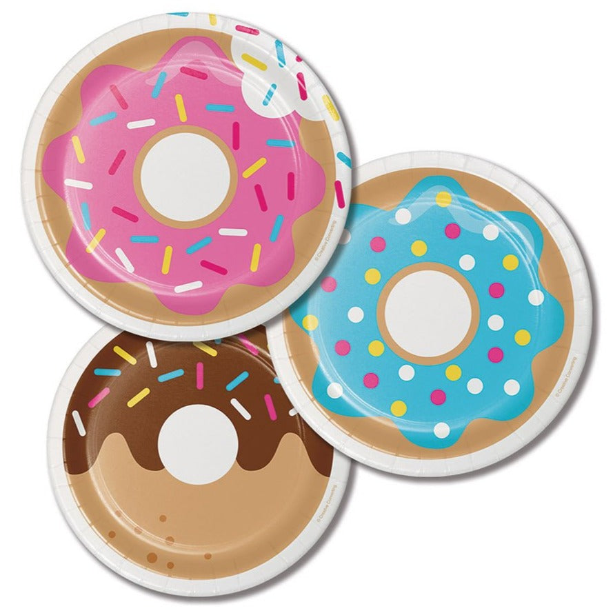 Assorted Donut Plates