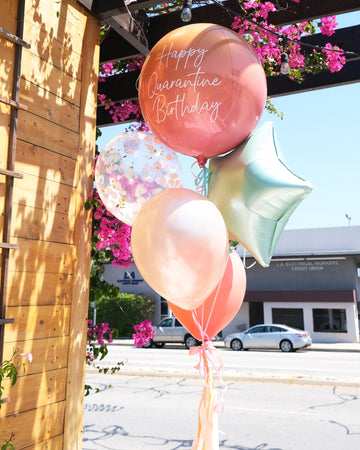 Quarantine Birthday Balloongram | Dots Cafe Collab