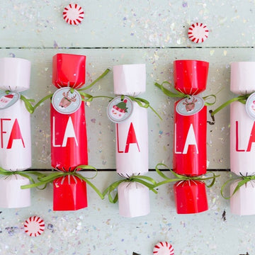 FA LA LA Party Crackers Set of 12